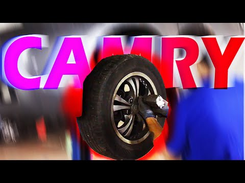Toyota Camry 40 | УБИЛ ТОРМОЗНЫЕ ДИСКИ