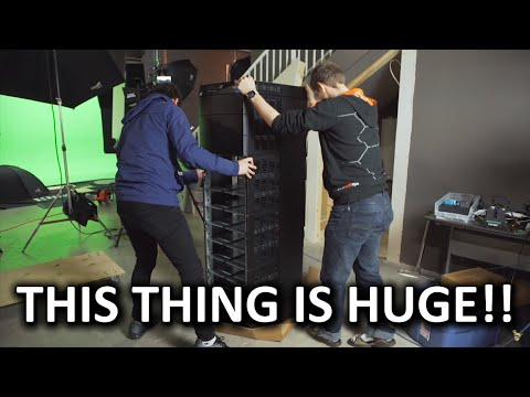 HOLY $H!T - A $17,000 (CAD) Man-sized Battery!