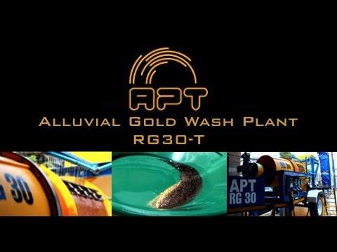 RG30-T Scrubber/Wash Plant | APT Mining Equipment