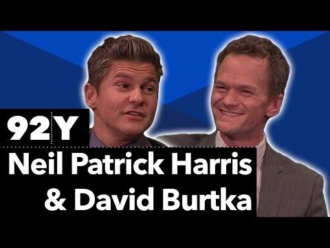 Neil Patrick Harris, David Burtka, and Geoffrey Zakarian