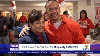 PHÓNG SỰ CỘNG ĐỒNG: TNS Dean Trần tái đắc cử nhiệm kỳ 2018-2020 tại Massachusetts