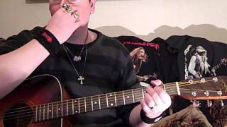 me showing you how to play -have you forgotten?- by darryl worley on acoustic guitar