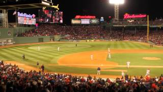 Sweet Caroline at the 2013 World Series
