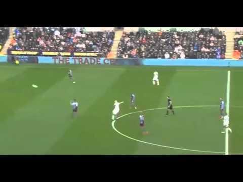 Shelvey Amazing goal Swansea vs Aston Villa 2014