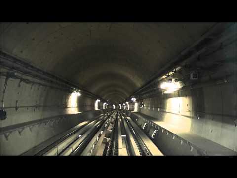 Dubai Metro Green Line - Etisalat to Dubai Healthcare City - Speedup [1080p]