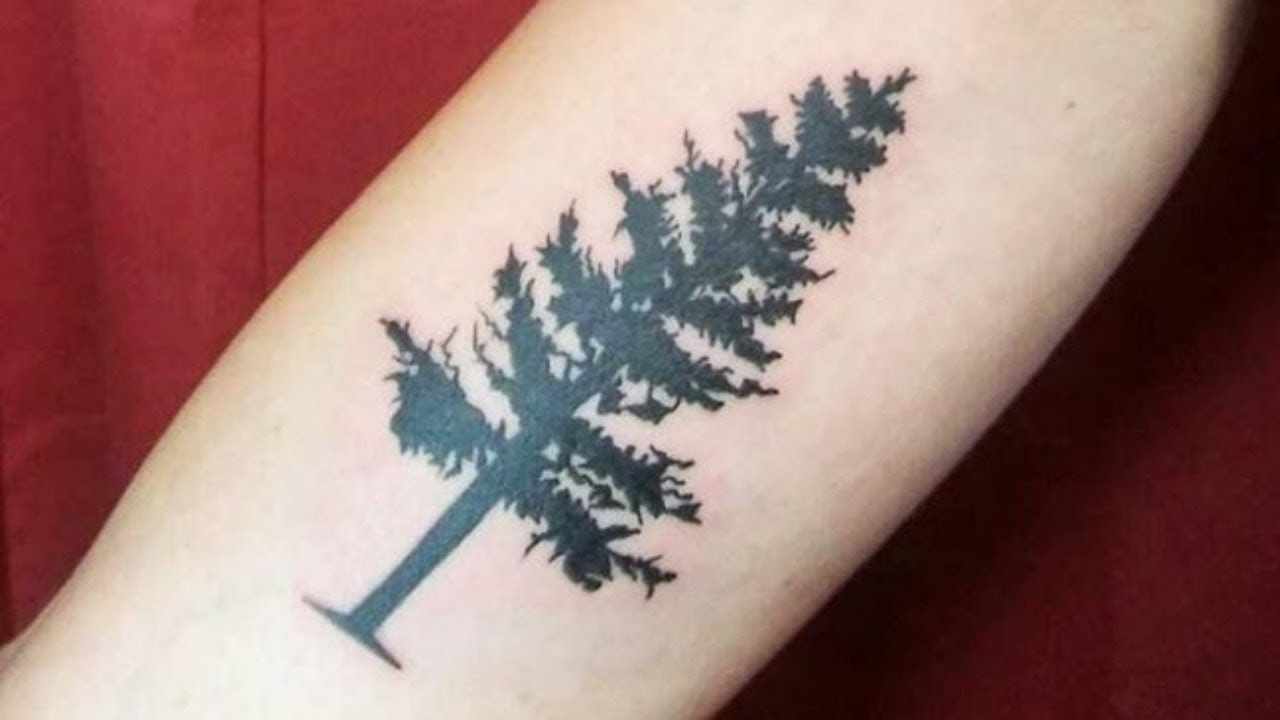 Amazing Pine Tree Tattoo Design Ideas For Women And Men