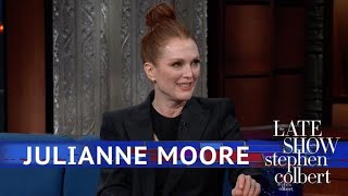 Julianne Moore: It's Important To Embarrass Your Kids