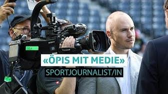 «Öpis mit Medie»: Was macht ein/e Sportjournalist/in?