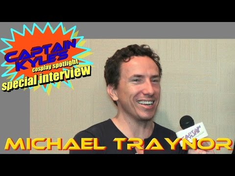 Michael Traynor (The Walking Dead) - Captain Kyle Special Interview