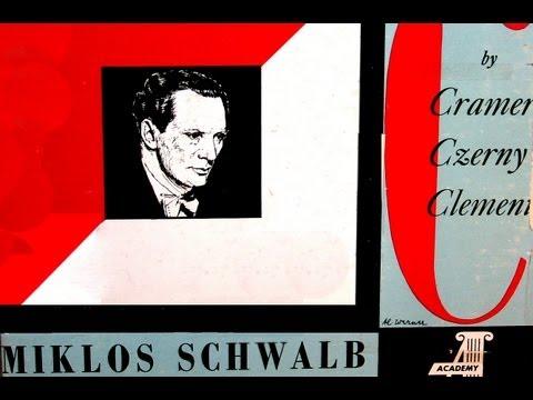 Cramer / Miklos Schwalb, 1951: Thirteen Etudes (From JB Cramer's 84)