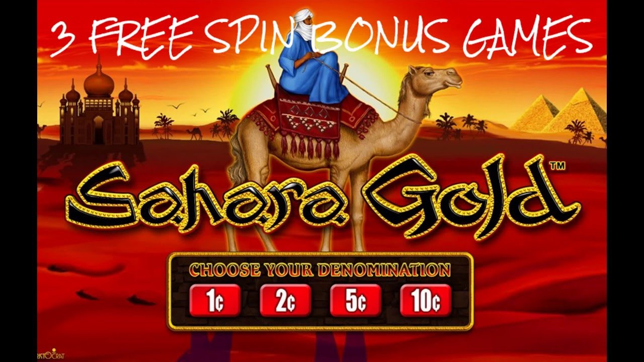 Slot machine sahara