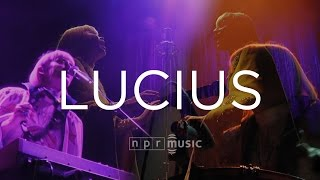 Lucius: Full Concert | NPR Music Front Row