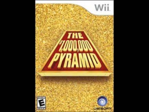 Nintendo Wii The $1,000,000 Pyramid 5th Run Game #1