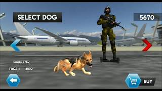 Police Sniffer Dog Chase Mission - Android GamePlay HD - Police Dog Games Android