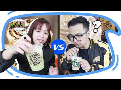 STARBUCKS vs COFFEE BEAN - Mari Kita Bandingkan!
