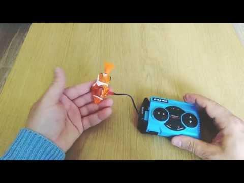 RC Mini Clownfish - Gearbest Stuff