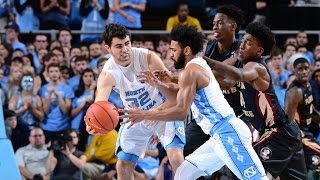 UNC Men's Basketball: Carolina Knocks Off No. 9 Florida State, 96-83
