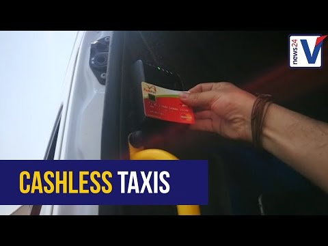 WATCH: Card payments on taxis