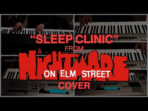 'Sleep Clinic' from 'A Nightmare on Elm Street' (1984) cover