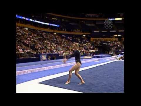 Terin Humphrey - Floor Exercise - 2004 U.S. Gymnastics Championships - Women - Day 1