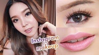 Instagram makeup Ep.2 แต่งหน้า Nude & Glow เรียบหรูดูแพง║Evefee