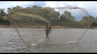 Ловим самую ЧИСТУЮ РЫБУ Рыбалка Кастинговой сетью