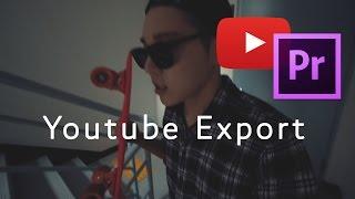 유튜브에 최적화된 동영상 인코딩 (어도비 프리미어프로)