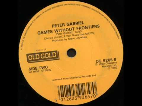 "Peter Gabriel - Games Without Frontiers - Old Gold 7"" single record"
