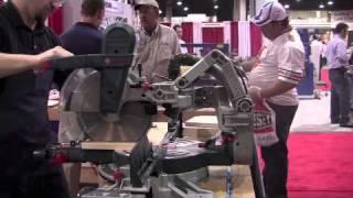 Bosch Glide Miter Saw - International Woodworking Fair 2010