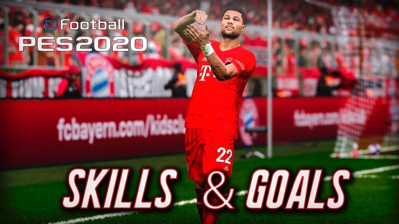 PES 2020 | DEMO HIGHLIGHTS | SKILLS & GOALS COMPILATION