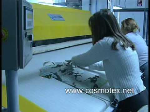 cosmotex automatic ironing machine precon plancha automática para