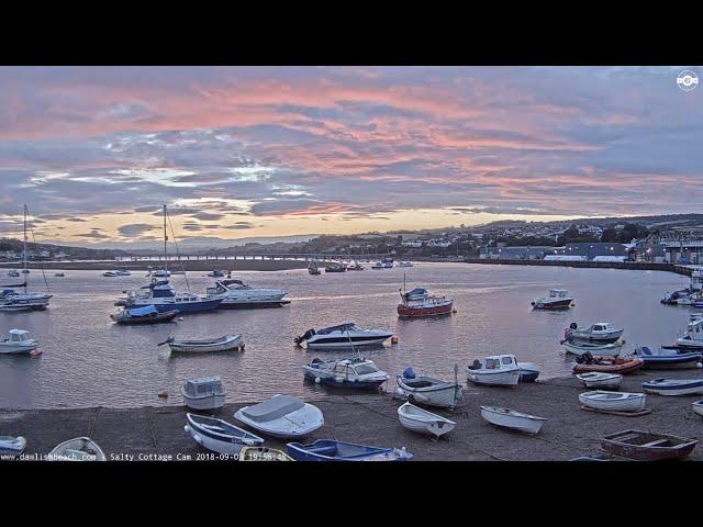 Live UK Beach Cam Teignmouth Cam Devon UK