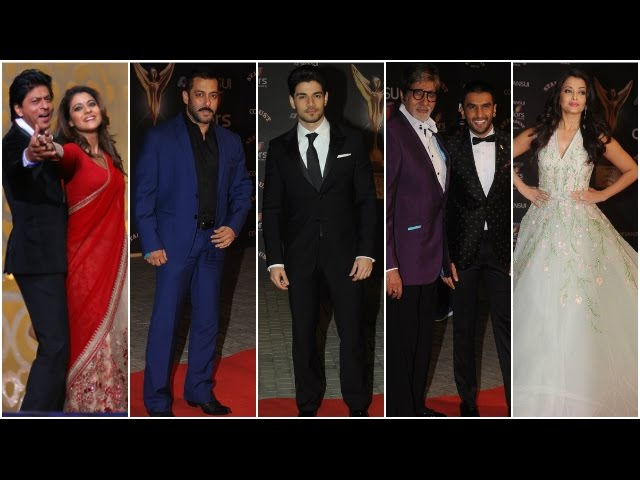 Check out! Bollywood Celebs Rocking The Red Carpet At Stardust Awards 2015