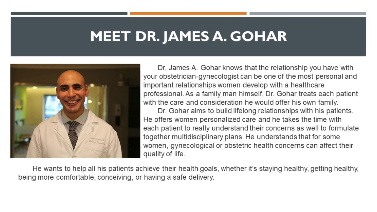 James A  Gohar, MD - OBGYN / Obstetrician Gynecologist in