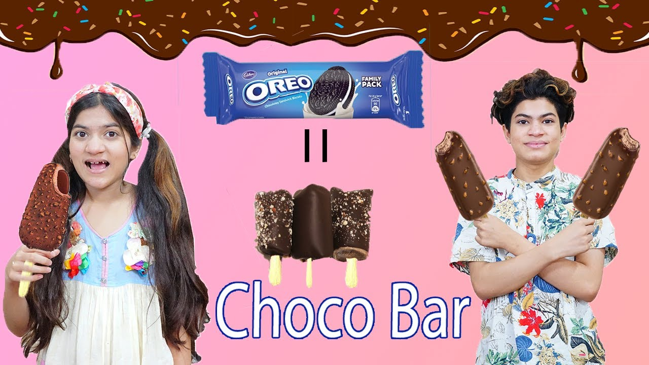 OREO Chocolaty Choco Bar Only 3 Ingredients Without Cream, Beater     MoonVines