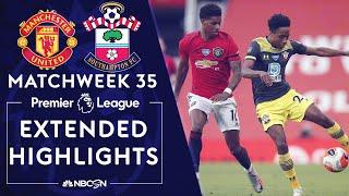 Manchester United v. Southampton | PREMIER LEAGUE HIGHLIGHTS | 7/13/2020 | NBC Sports