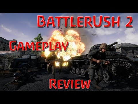 BattleRush 2 Review And Gameplay (WW2 Multiplayer Shooter)