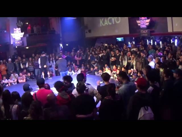 Yaio vs Kacyo - Red Bull BC One Italy Cypher 2015 Semifinale