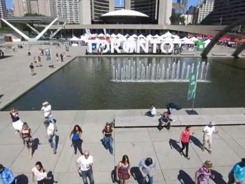 Toronto - International Flashmob West Coast Swing 2016