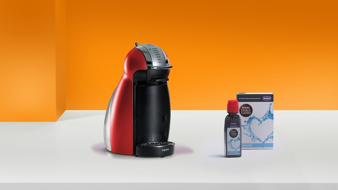 4575d3ace Descale your NESCAFÉ® Dolce Gusto® Genio 2 coffee machine by Krups ...