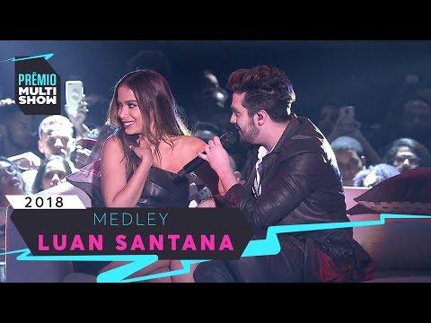 Sofazinho + A + Vingan莽a | Luan Santana | Pr锚mio Multishow 2018