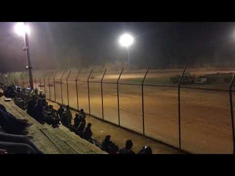 Crate Sportsman/Stock 8 Main Harris Speedway 9/30/17