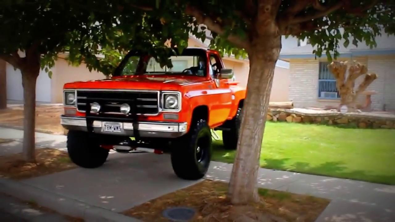 All Chevy 74 chevy short bed : orange chevy 1978 - YouTube