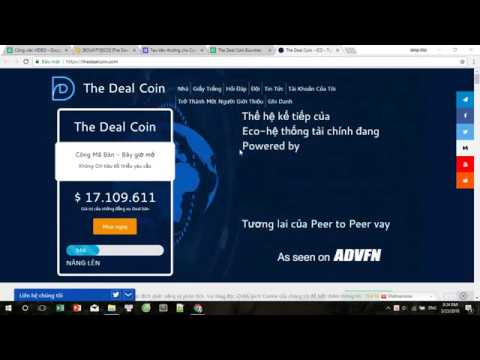 THE DEAL COIN ICO REVIEW - Thế hệ kế tiếp của Eco-hệ thống t