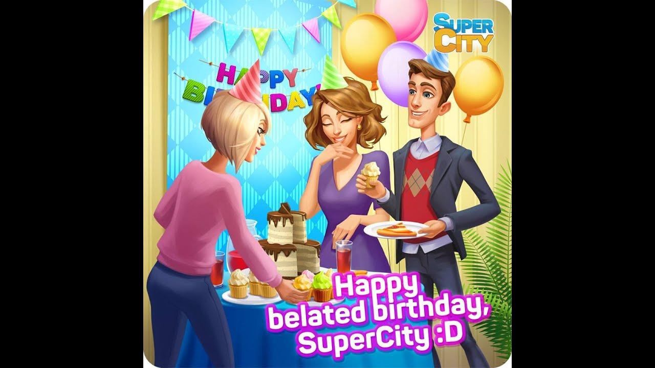 🍰 Happy Birthday, SuperCity! С днем рождения, Суперсити! 🍰