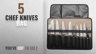 Top 10 Chef Knives Bag [2018]: Chef Knife Bag Roll Bag Carry Case Bag Kitchen Portable Storage