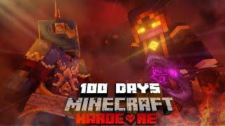 100 Days to stop the DARK REALM INVASION in Modded Minecraft