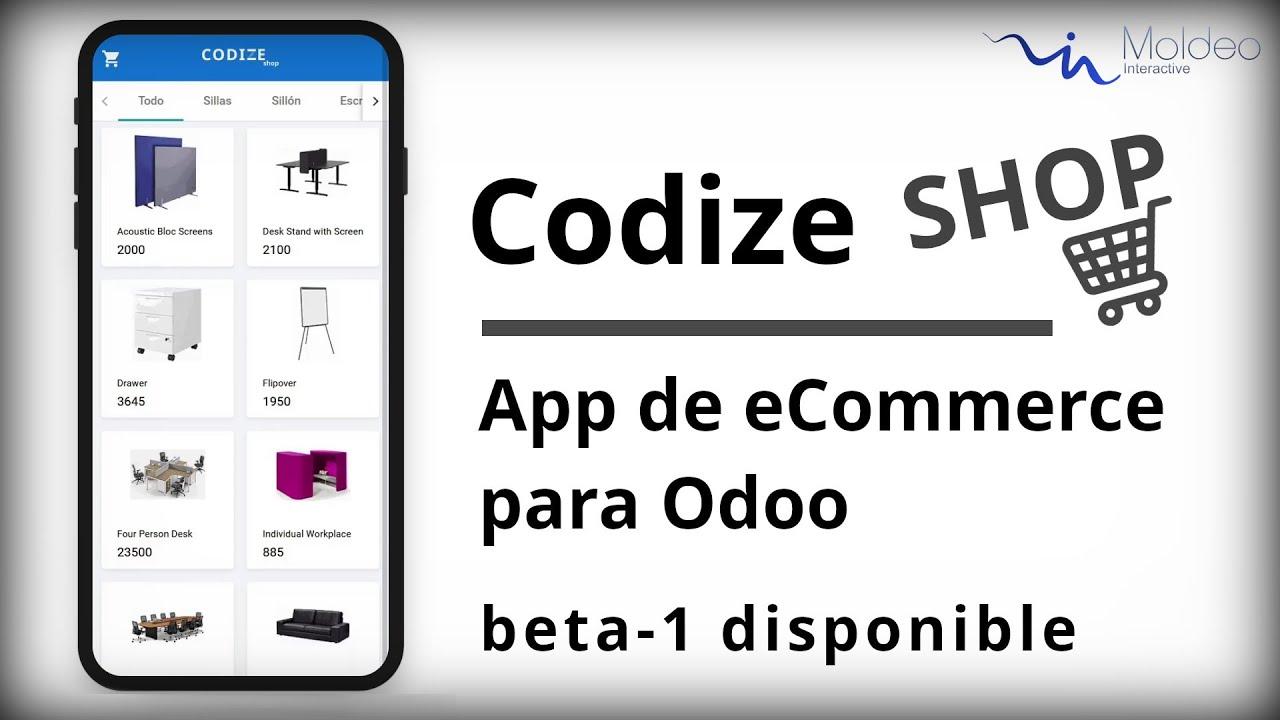 Codize Shop - App de eCommerce para Odoo   beta-1