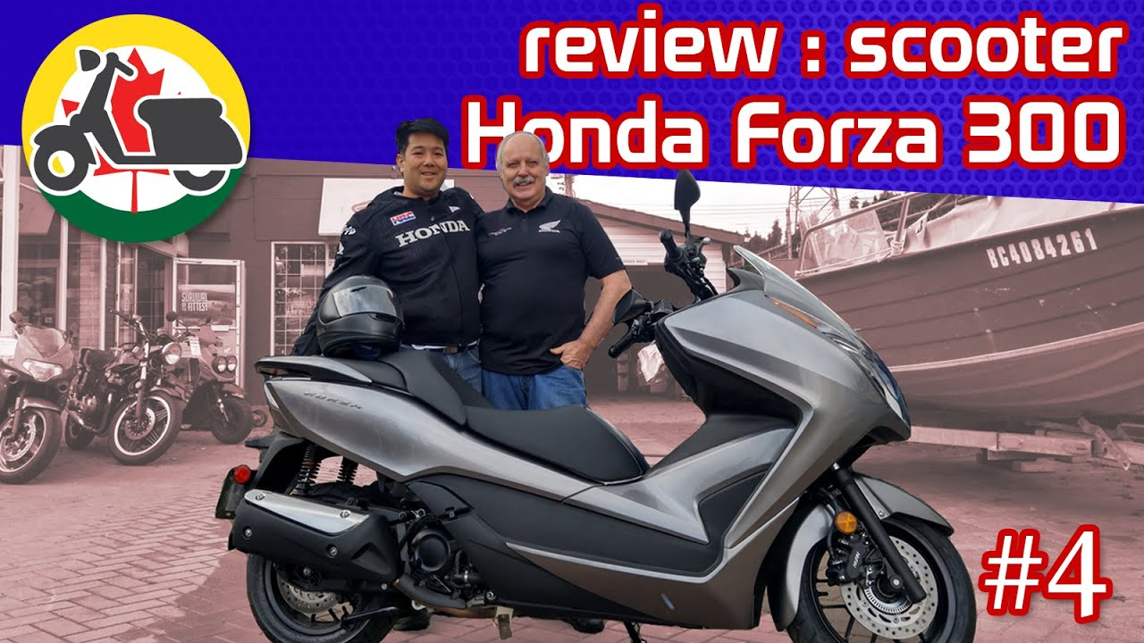review honda forza 300 ep04 youtube. Black Bedroom Furniture Sets. Home Design Ideas