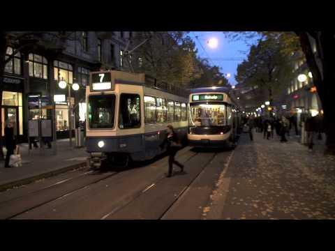 Zurich Trams 2 Bahnhofstrasse